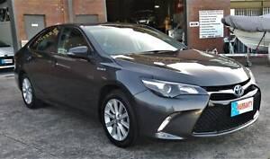 2015 Toyota Camry Hybrid Atara S with Parking Sensors & Service Books Woodridge Logan Area Preview