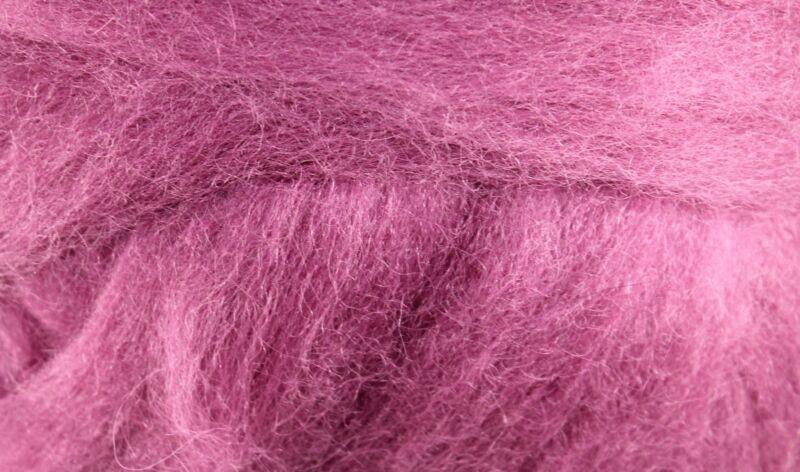 Wool Roving - 1oz - Wild Berry