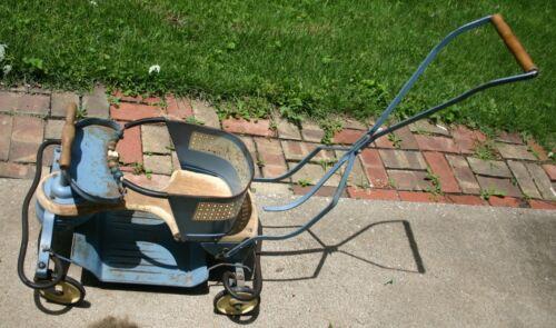 Vintage Taylor Tot Metal Baby Stroller Walker Good Shape FREE SHIPPING