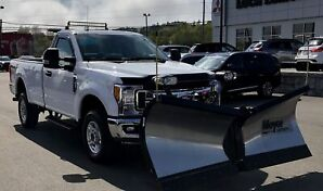 2017 Ford F-250 XLT 4WD with Plow