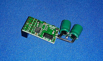 Real Time Clock module for the Raspberry Pi with I2C Passthru & Super Capacitors
