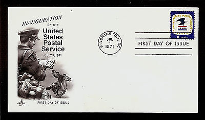 FIRST DAY COVER USPS Inauguration 8c #1396 ARTCRAFT U/A FDC 1971