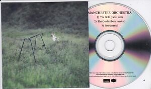 MANCHESTER ORCHESTRA THE GOLD 3 TRACK PROMO CD