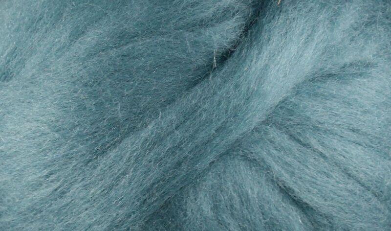 Wool Roving - 1oz - Ocean Blue
