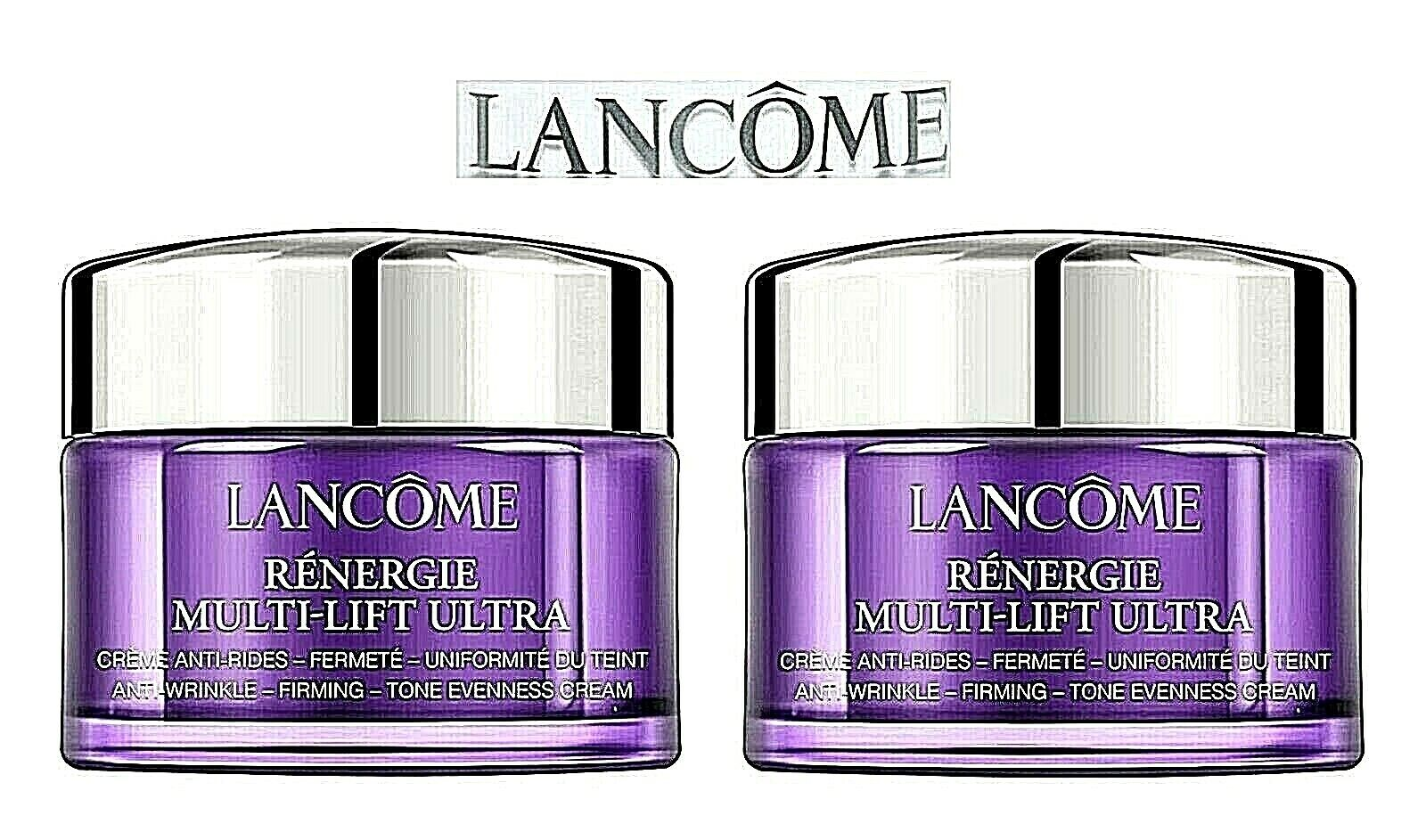 Lancome Renergie Multi-Lift ULTRA 30 ml Anti Wrinkle Cream Neu ( 2 x 15 ml )