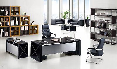 Moderno Oficina Set Designmöbel Escritorio Estantería Acero Armario Archivador