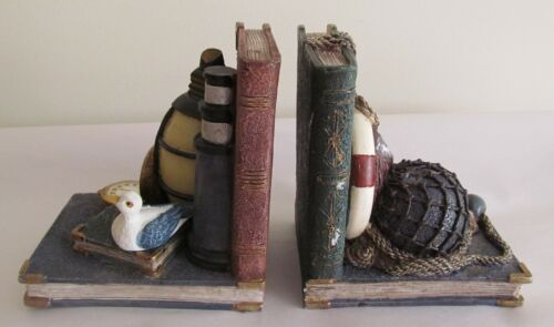 Pair of Nautical Themed Bookends