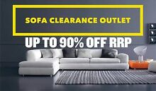SOFA CLEARANCE OUTLET - up to 90% OFF RRP Leumeah Campbelltown Area Preview