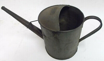 Vintage Metal Watering Can Garden Planter