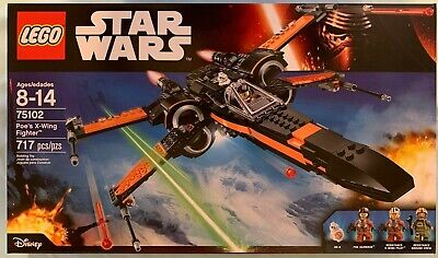 LEGO 75102 Poe's X-Wing Fighter Star Wars New Factroy Sealed, Unopened!