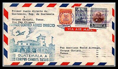GP GOLDPATH: GUATEMALA COVER 1946 FIRST FLIGHT COVER _CV695_P04