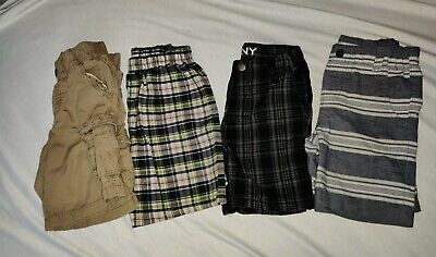 Lots Of Baby Boy Shorts Size 4T All Cute DKNY Nautica Old Navy Nickelodeon
