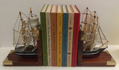Colonial Ship Nautical Decor Bookends for sale  Shipping to Canada