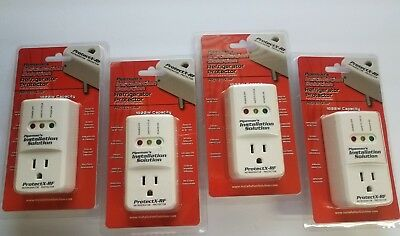 4 Lot Pack Refrigerator 1800 Watts Voltage Brownout Appliance Surge Protector