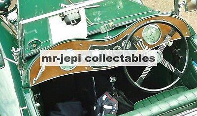 MG  Vintage  Dashboard        Photo Fridge Magnet     90 mm  x  60 mm