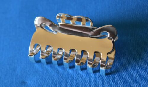 STERLING SILVER SMALL HAIR CLAW CLIP .925 NEW ARRIVAL