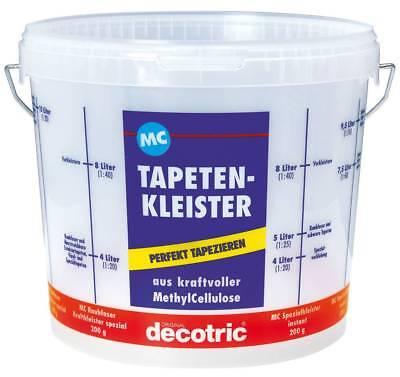 Decotric Kleistereimer Tapeziereimer 10 l für Tapeten Tapetenkleister