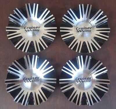 Cruiser Alloy 903 Cake Wheel Center Cap 903L160 903K66 NEW Black Rim Middle