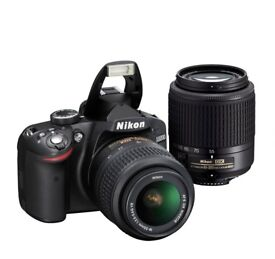 NIKON D3200, 2 ADDITIONAL LENSES, LOTS OF EQUIPMENT!!!