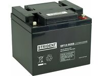New 50Ah Strident battery for a mobility scooter or power chair - 2 available
