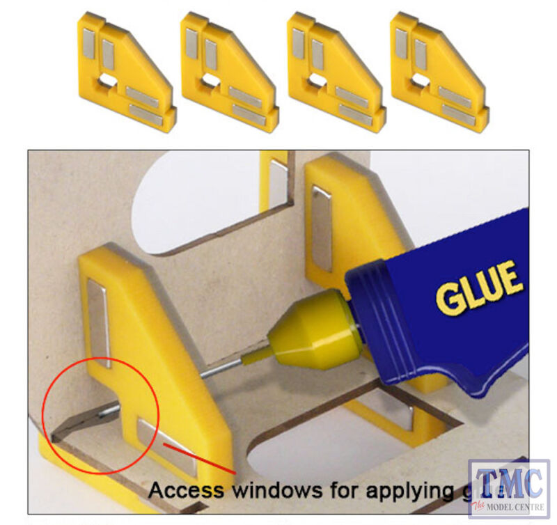 PPR-SS-01 Proses Snap & Glue Set Square (4 Magnetic Clamps w/16 Magnets)