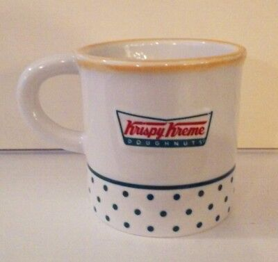 c8cabe47d8e Used, Krispy Kreme Doughnuts 8oz. Mug Cup 3D Mini Donut on Bottom Inside  poka