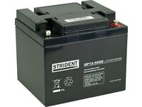 New 50Ah Strident battery for a mobility scooter or power chair - Free delivery up to 10 miles