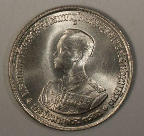 Thailand 20 Baht 1963 BU - UNC Silver Y # 86 Rama IX
