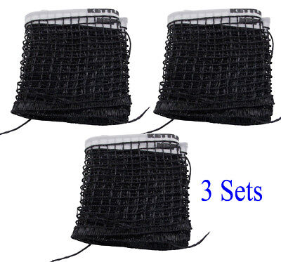 3 Set-Brand New Kettler Table Tennis Replacement Net Indoor and Outdoor Tables