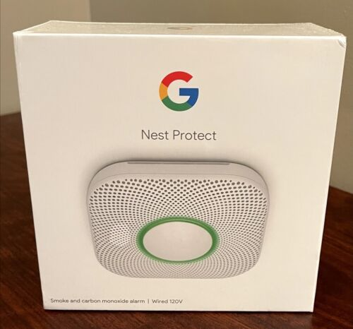 NEW Google Home Nest Protect Wired (120V) Smoke and Carbon Monoxide Alarm