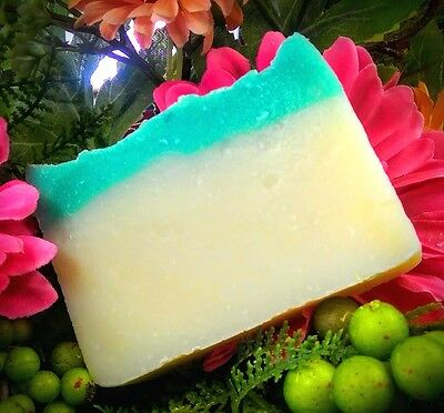 Handmade Coconut Oil Salt Water Beach (Sea Breeze)  Soap BEST QUALITY Vegan (Best Quality Coconut Water)