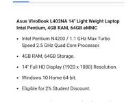Asus l403n laptop