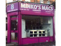 MINKOS MACS LEWISHAM SOUTH LONDON WE BUY SELL REPAIR EXCHANGE APPLE MACBOOK AIR PRO IMAC i5 i3 i7