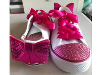 Bling sparkle customised shoes/trainers/converse/sandals