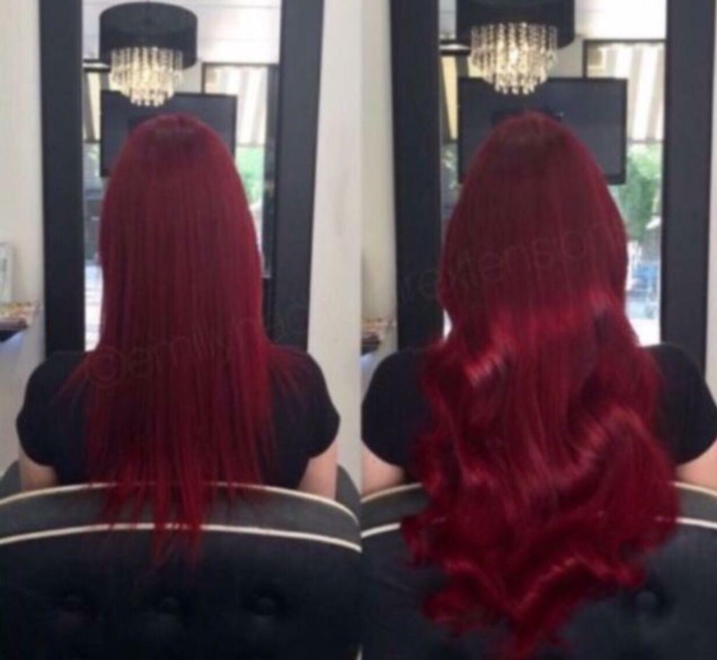 Mobile Hairdresser Based In Manchester Tape Extensions La Weave