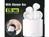 Wireless Bluetooth earphones - NEW