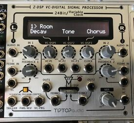 Tip Top Audio Z-DSP + Halls of Valhalla + Dragon Fly Delay Eurorack Module Synth BOXED