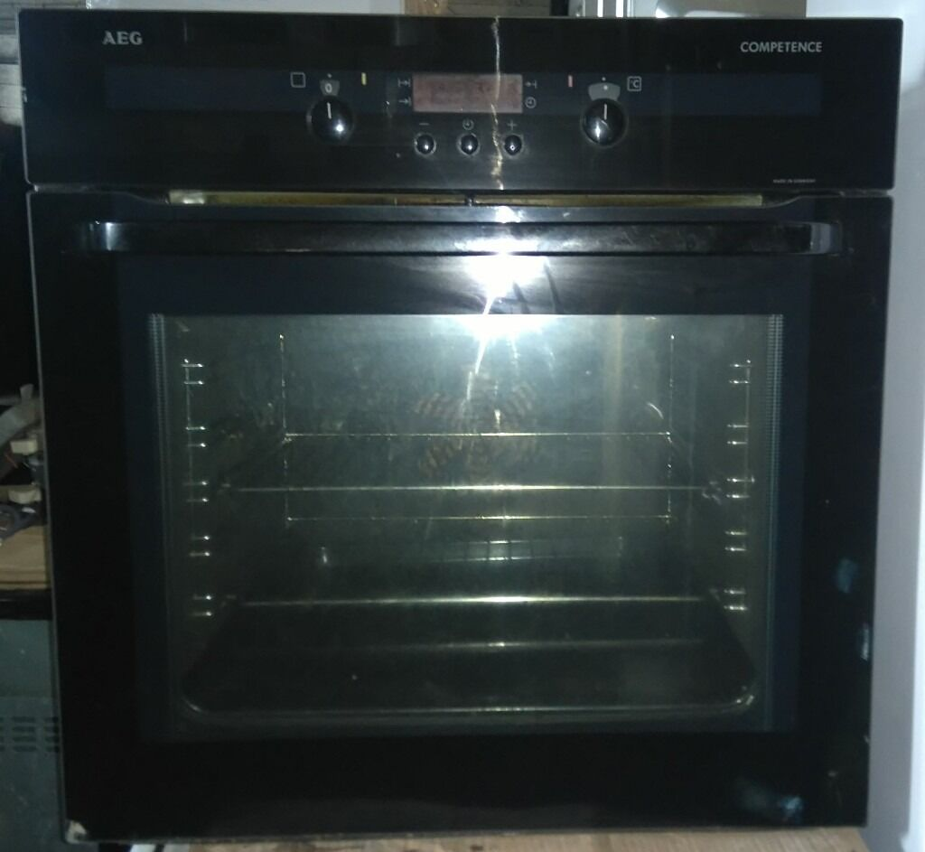 aeg competence b2190 1 b fan assisted single electric oven. Black Bedroom Furniture Sets. Home Design Ideas
