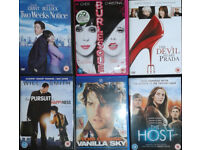 DVDs films, DVD discs, Movies. 36 available.
