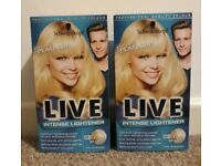 Platinum hair dye for sale x2 boxes for £3