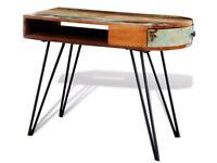 Handmade desk (reclaimed solid wood)