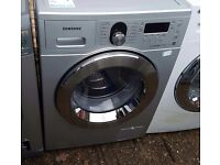 8KG SAMSUNG ECO BUBBLE WASHING MACHINE ,NEW MODEL EXCELLENT CONDITION, 4 MONTH WARRANTY