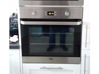 Beko OIF22300X Electric Built-in Single Fan Oven - Stainless