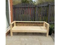 Garden furniture / garden seating / garden sofa