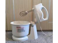 Kenwood Compact Whisk Mixer - Bowl & Detachable Hand Mixer - Worktop Electric 5 Speeds