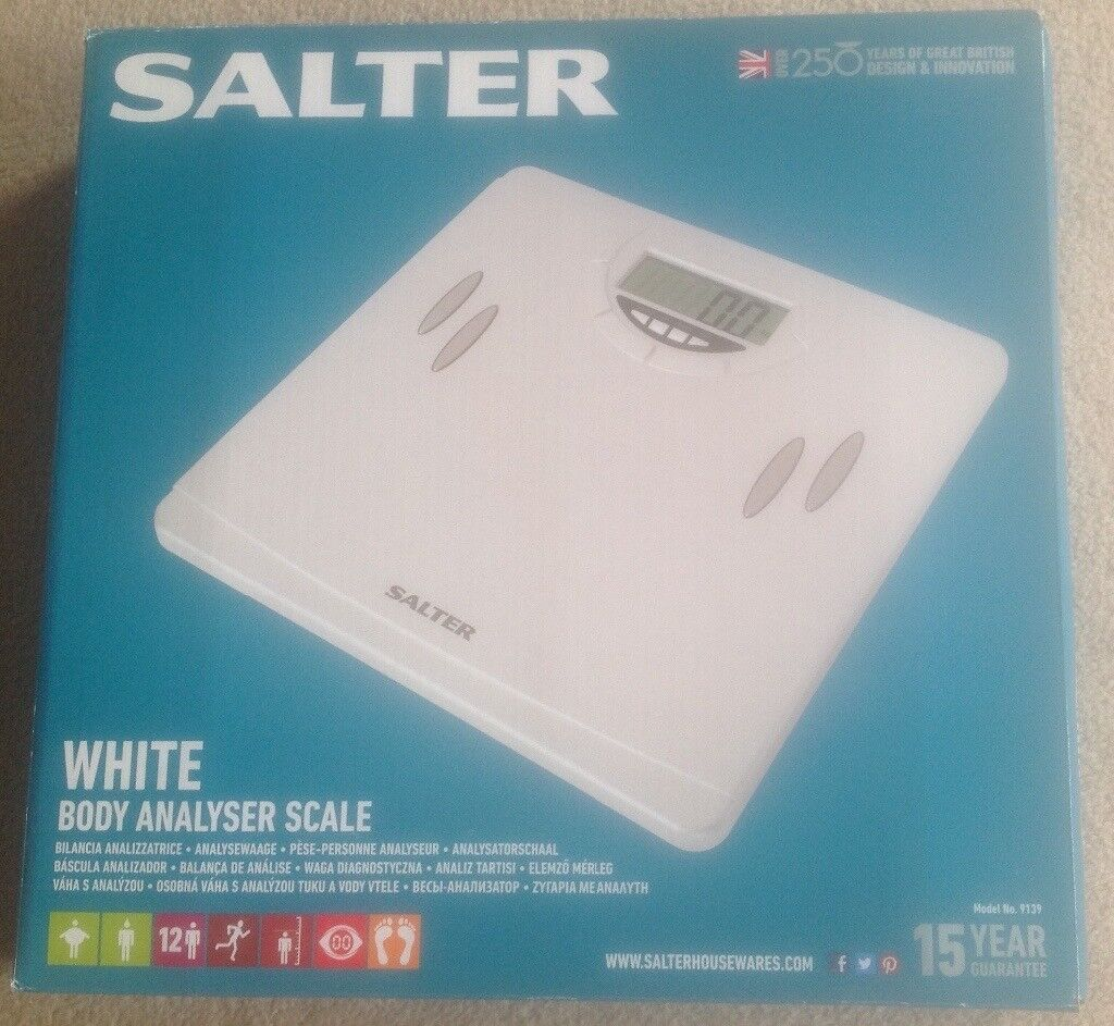 SALTER BODY ANALYSER WEIGHING SCALE NEW IN BOX