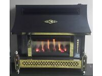 Robinson Willey Sahara LFE 4.78 KW Gas Fire ( Pewter )