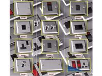 60+ Polished Chrome Electrical Fittings DP Blanking Dimmer Cooker Switches Joblot 65% OFF Sale