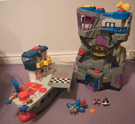 Fisher Price Imaginext Bundle of 4 sets