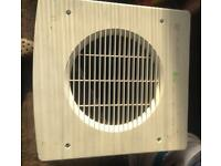 "Large 9"" xpelair extractor fan complete"